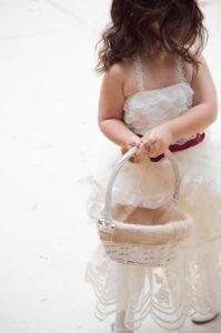 Kindertisch für die Hochzeit